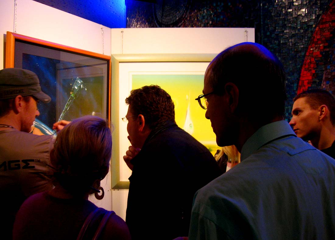 Photo: Opening day, Spacelands-Exhibition at Planetarium Nürnberg