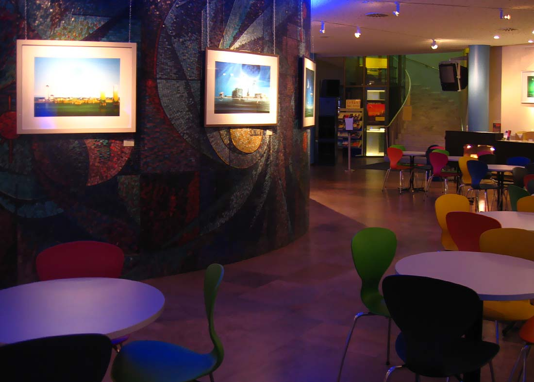 Photo: Exhibition at Foyer, Planetarium Nürnberg