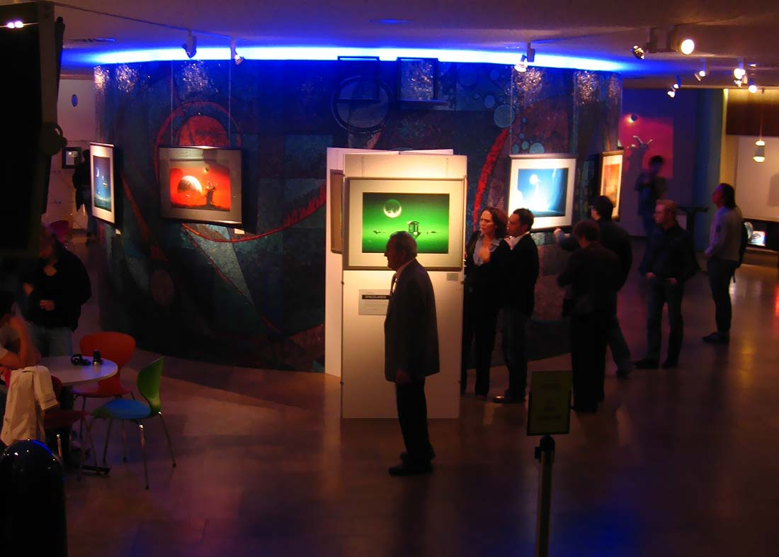 Photo: Exhibition opening day at Planetarium Nürnberg