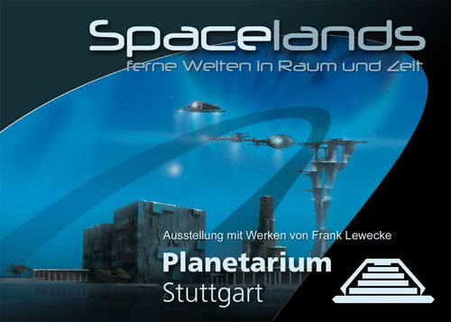 Exhibition flyer Planetarium Stuttgart