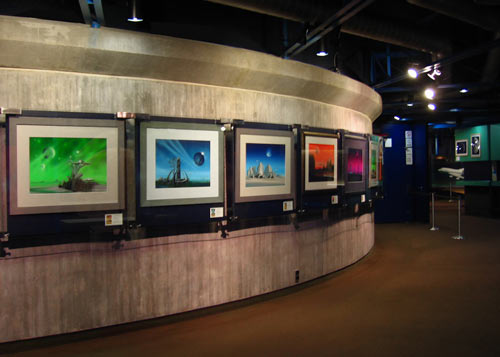 Photo: Foyer. Exhibition Planetarium Stuttgart