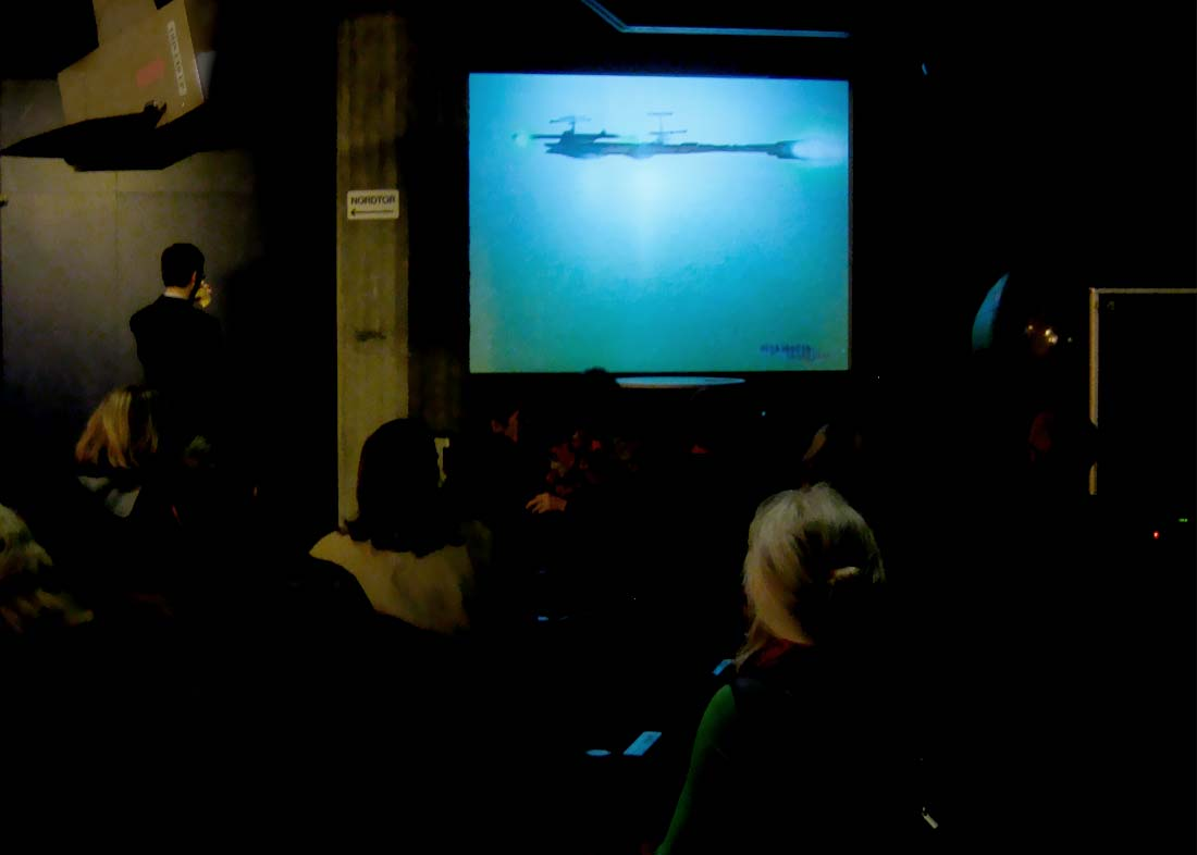 Foto: Science Fiction Kino, Vernissage